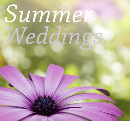 A lot of people dream of having a summer wedding